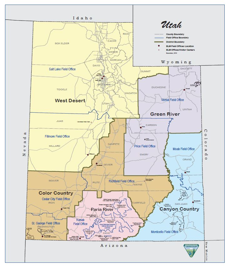Utah Maps Bureau Of Land Management