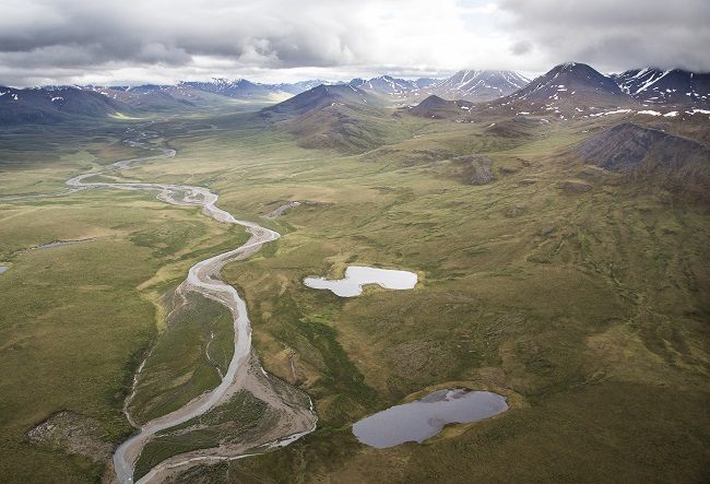 BLM Alaska manages many outstanding conservation lands including Central Arctic Management Area. Photo by Bob Wick.