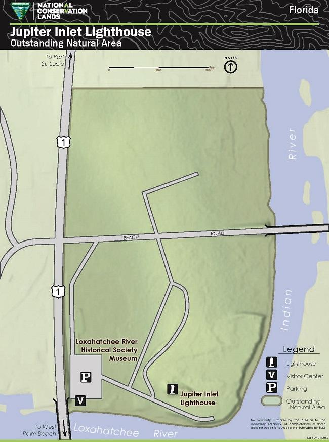 Lighthouses In Oregon Map.Jupiter Inlet Lighthouse Ona Bureau Of Land Management