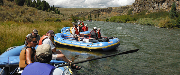 Idaho Falls District RAC members float the South Fork of the Snake River