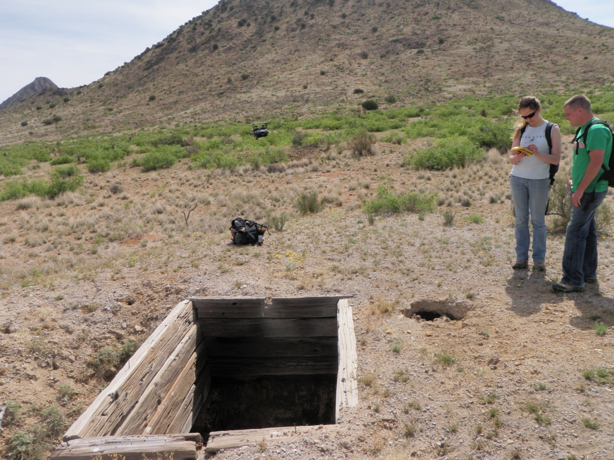 Abandoned Mine Land inventory team in New Mexico