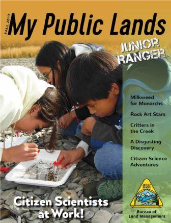 Citizen Scientists at Work! Junior Ranger book cover