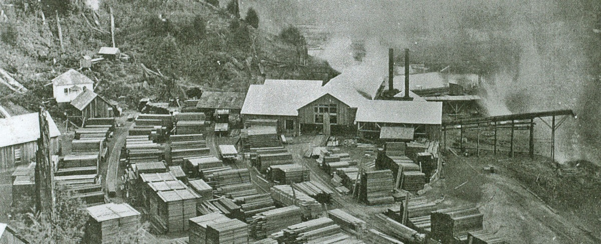 Falk Mill and Mill Yard. Photo courtesy of BLM