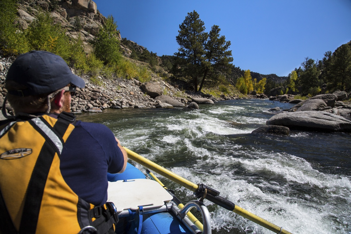 Rafting in Browns Canyon National Monument