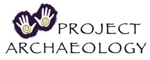 Project Archaeology logo.