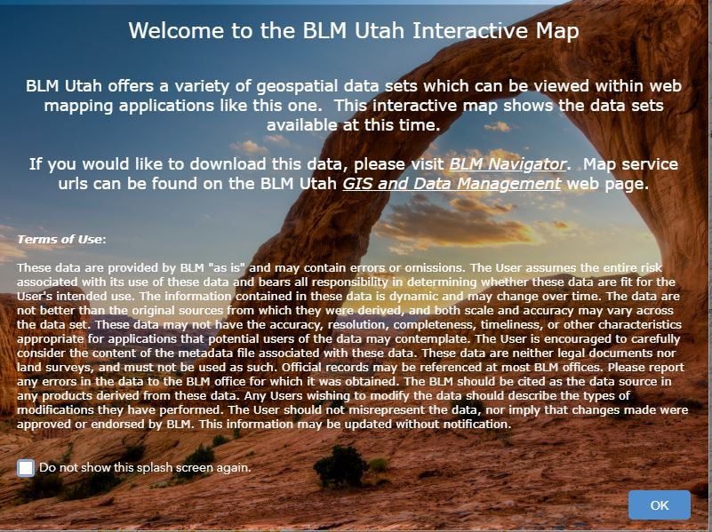 Utah - GIS and Data Management | BUREAU OF LAND MANAGEMENT